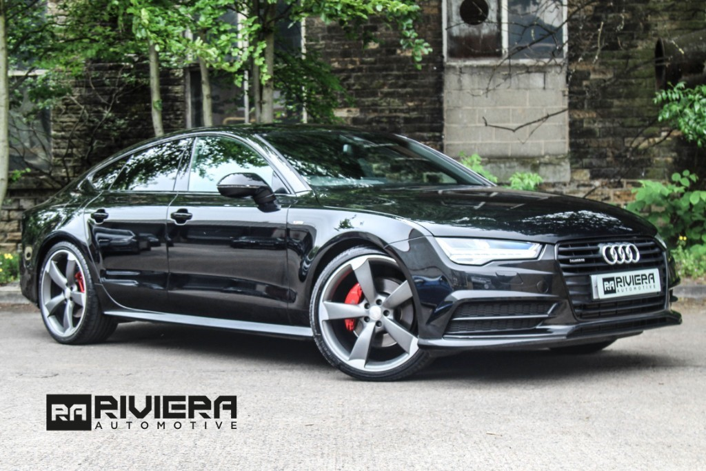 used Audi A7 3.0 TDI Black Edition Sportback S Tronic quattro (s/s) 5dr in west-yorkshire