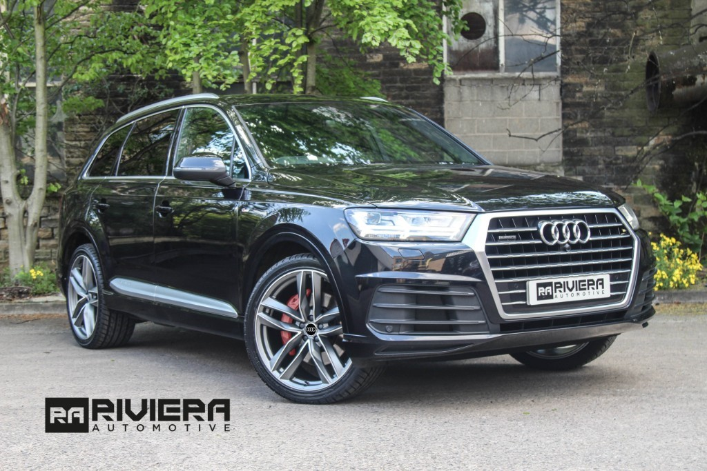 used Audi Q7 TDI QUATTRO S LINE in west-yorkshire