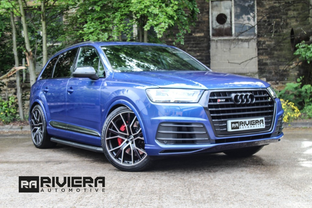 used Audi Q7 SQ7 TDI QUATTRO in west-yorkshire