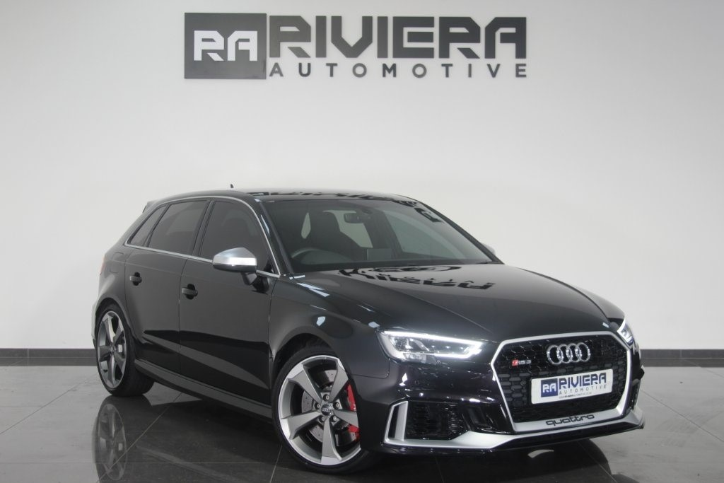 used Audi RS3 TFSI Sportback S Tronic Quattro 5dr in west-yorkshire