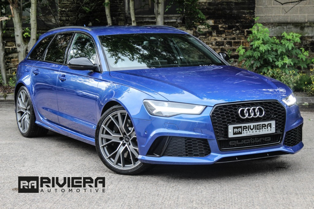used Audi RS6 PERFORMANCE AVANT TFSI QUATTRO in west-yorkshire