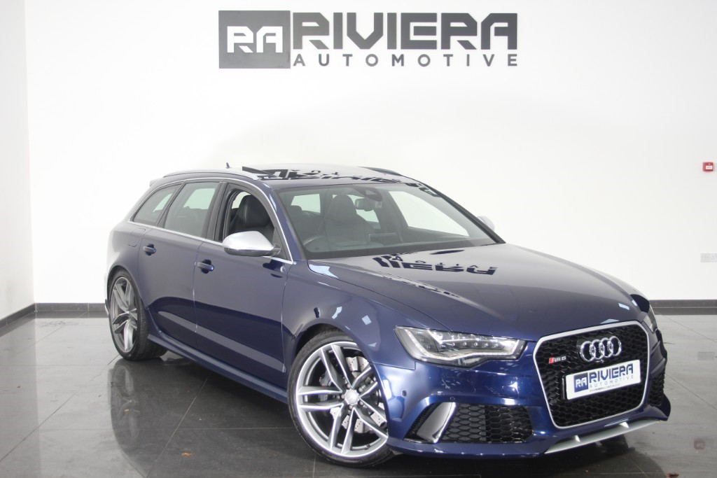 used Audi RS6 AVANT TFSI V8 QUATTRO in west-yorkshire