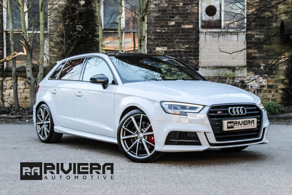 used Audi S3 SPORTBACK TFSI QUATTRO BLACK EDITION in west-yorkshire