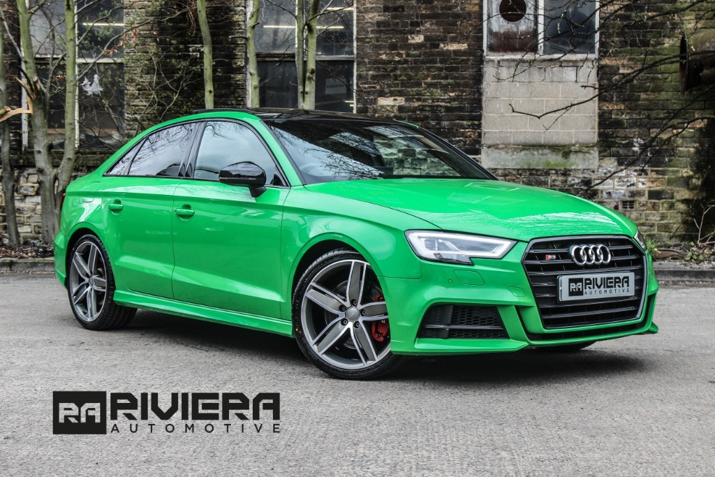 used Audi S3 TFSI QUATTRO BLACK EDITION in west-yorkshire
