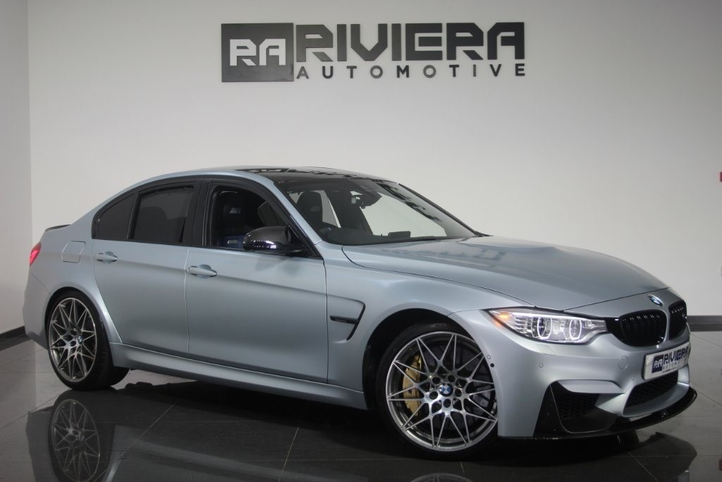 used BMW M3 (Competition Pack) M DCT (s/s) 4dr in west-yorkshire