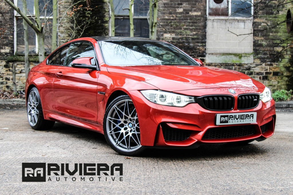 used BMW M4 COMPETITION PACKAGE in west-yorkshire