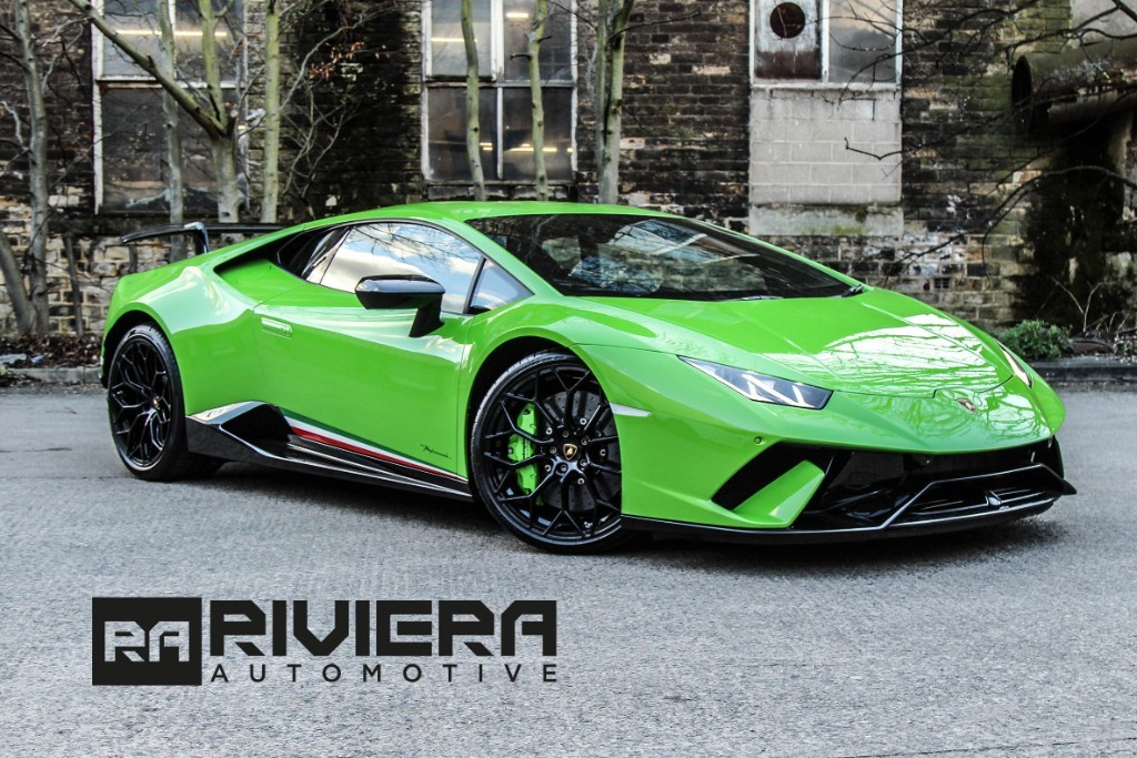 used Lamborghini Huracan LP 640-4 PERFORMANTE in west-yorkshire