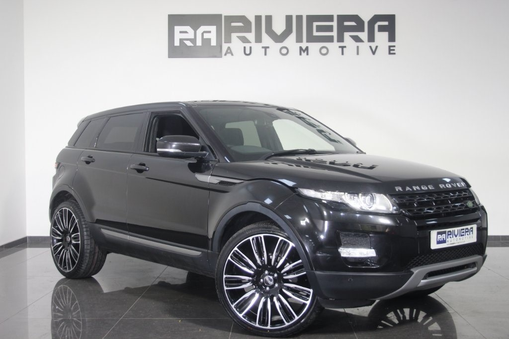 used Land Rover Range Rover Evoque SD4 Pure Tech AWD 5dr in west-yorkshire