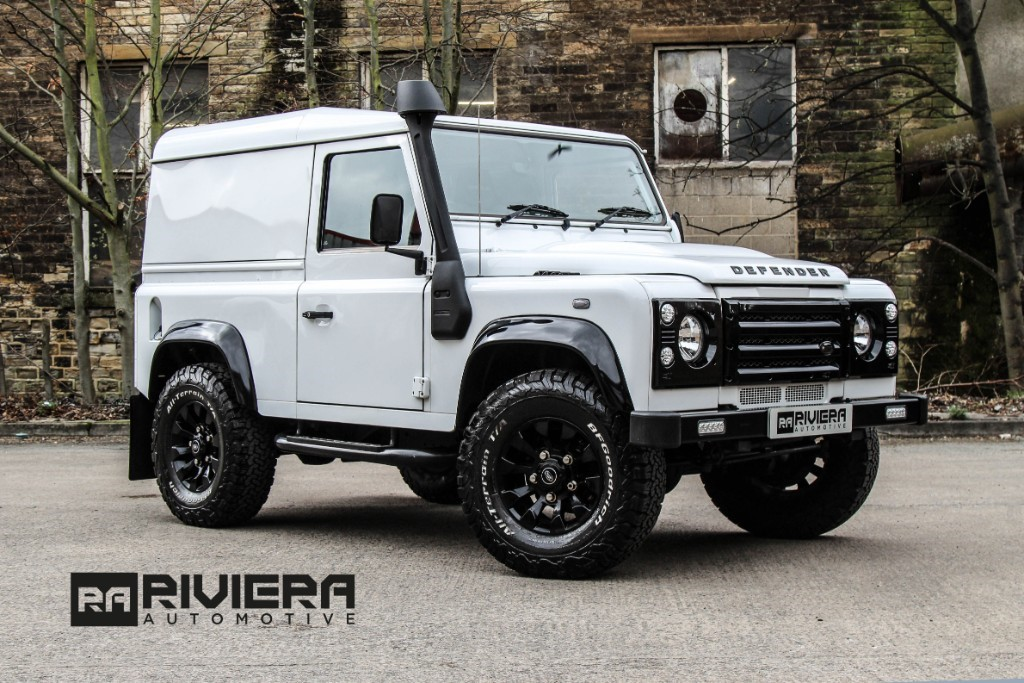 used Land Rover Defender TD HARD TOP in west-yorkshire