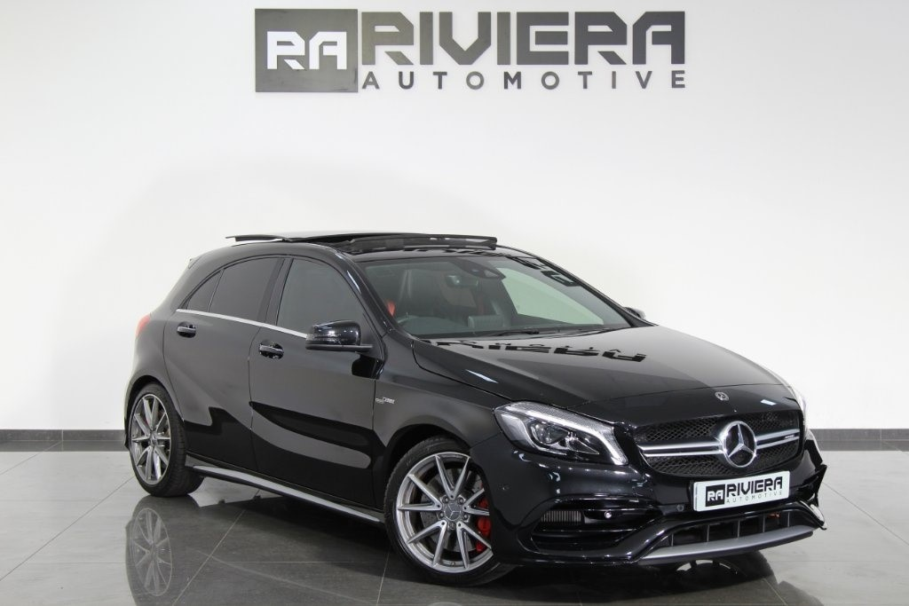used Mercedes A45 AMG A Class Speedshift DCT 4MATIC (s/s) 5dr in west-yorkshire