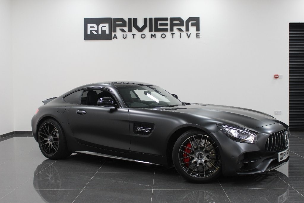 used Mercedes AMG GT GT C Edition 50 Coupe AMG Speedshift DCT 2dr (start/stop) in west-yorkshire