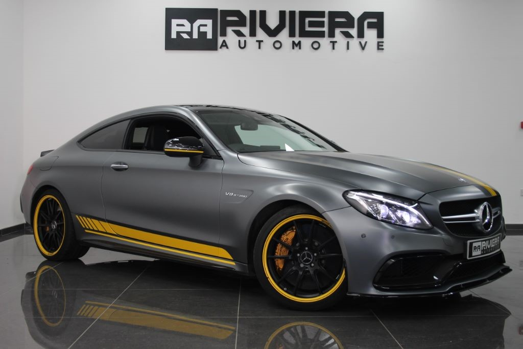 used Mercedes C63 AMG C-CLASS AMG C 63 S EDITION 1 MOTORSPORT in west-yorkshire