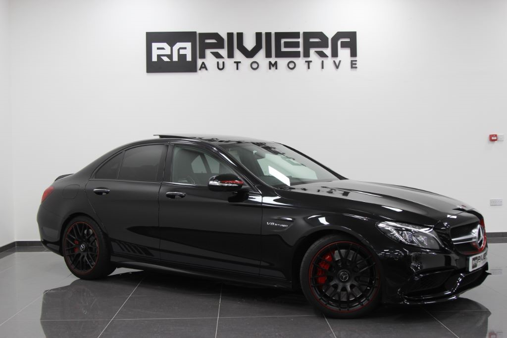used Mercedes C63 AMG C-CLASS AMG C 63 S EDITION 1 in west-yorkshire