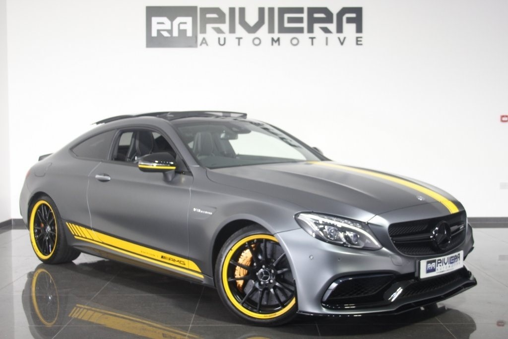 used Mercedes C63 AMG C Class S Edition 1 Motorsport Speedshift MCT (s/s) 2dr in west-yorkshire