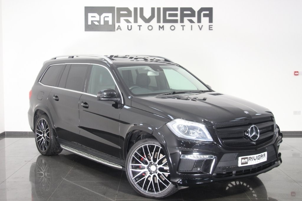 used Mercedes GL Class GL350 CDI BlueTEC AMG Sport 7G-Tronic Plus 4x4 5dr in west-yorkshire