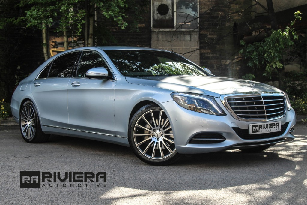 used Mercedes S350 BLUETEC L SE LINE in west-yorkshire
