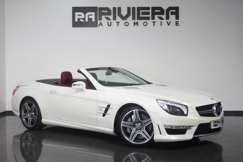 used Mercedes SL Class SL63 AMG Speedshift MCT 2dr in west-yorkshire