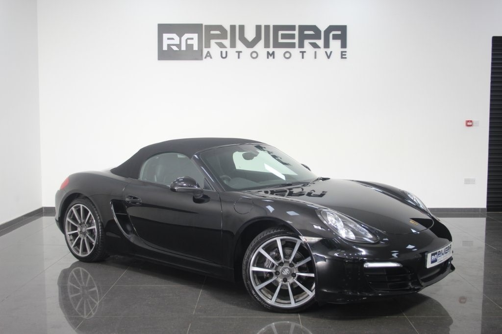 used Porsche Boxster 981 2dr in west-yorkshire