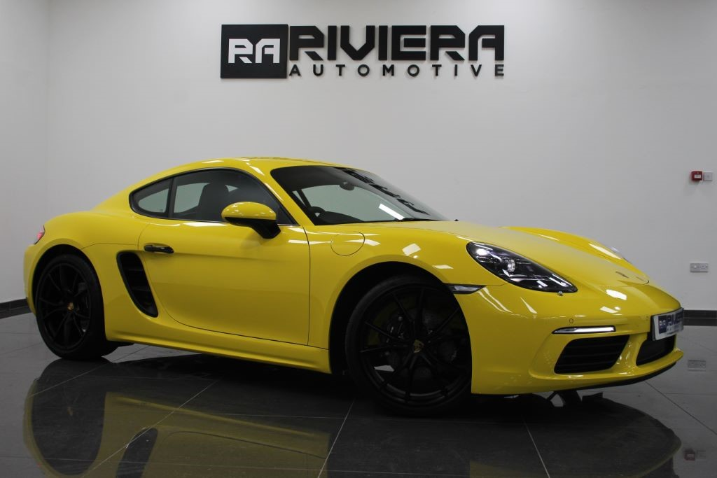used Porsche Cayman 718 2.0 PDK 2dr in west-yorkshire