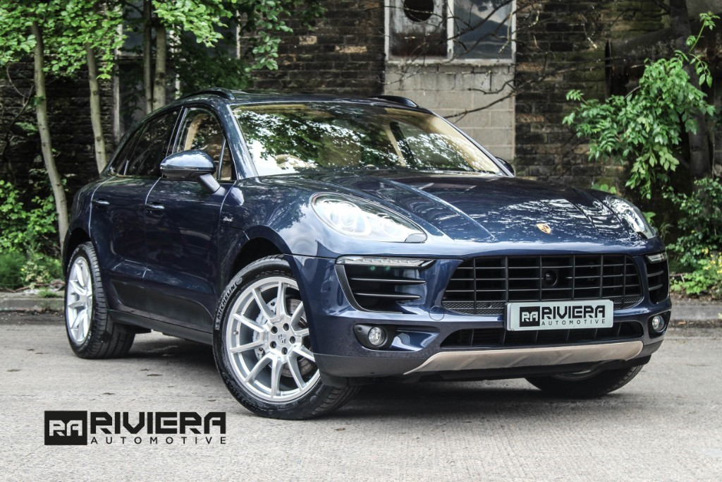 used Porsche Macan D S PDK in west-yorkshire