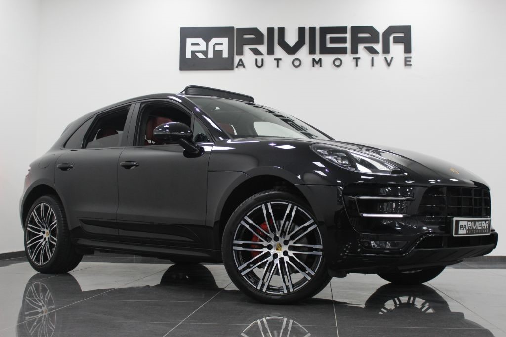 used Porsche Macan TURBO PDK in west-yorkshire