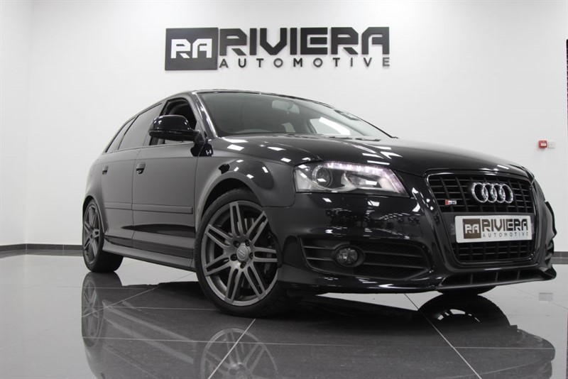used Audi S3 S3 SPORTBACK TFSI QUATTRO BLACK EDITION in west-yorkshire