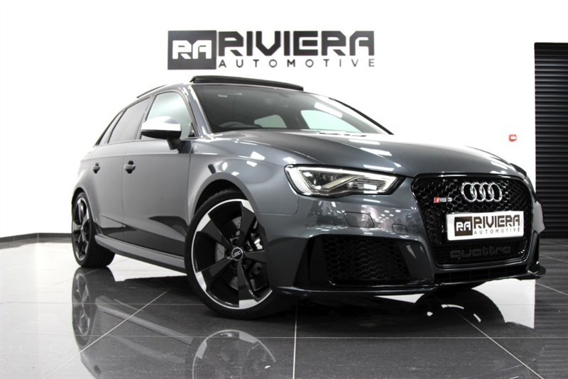 used Audi A3 RS3 SPORTBACK QUATTRO NAV in west-yorkshire