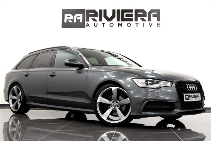 used Audi A6 Avant TDI S LINE BLACK EDITION in west-yorkshire