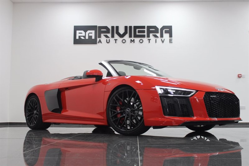 used Audi R8 SPYDER V10 QUATTRO in west-yorkshire