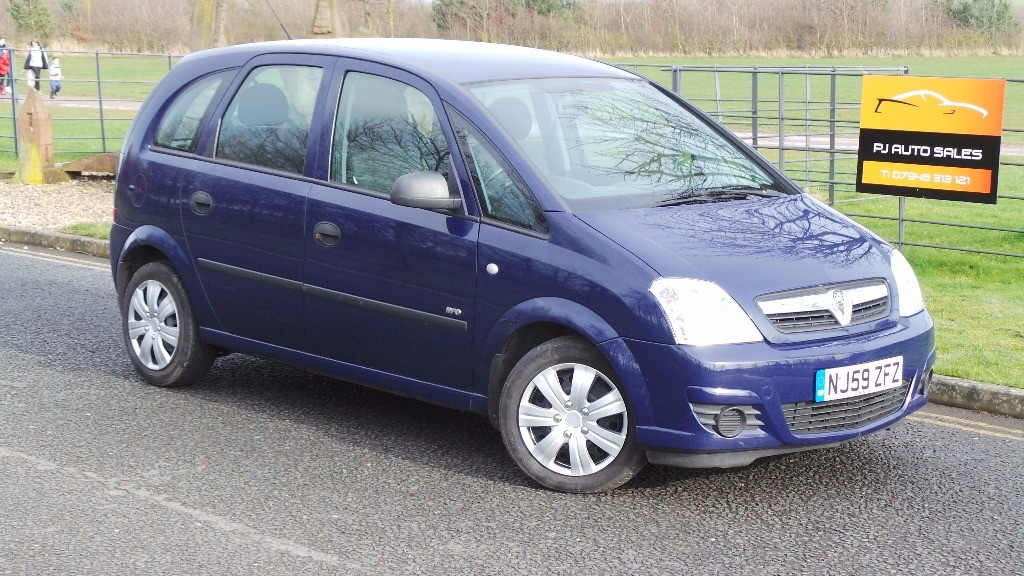 used Vauxhall Meriva LIFE 16V TWINPORT in houghton-le-spring-newcastle