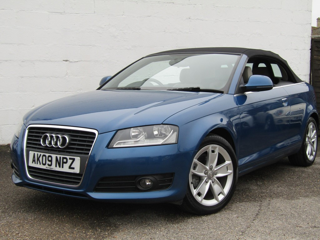 used Audi A3 1.8T FSi Sport Cabriolet S-Tronic in suffolk