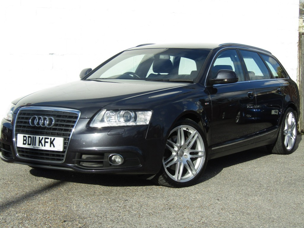 used Audi A6 Avant 2.7 TDi S-Line Special Edition in suffolk