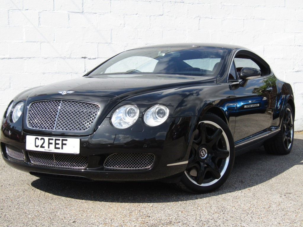 used Bentley Continental GT Auto Coupe in suffolk