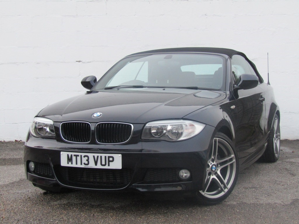 used BMW 118d 118d Sport Plus Edition Convertible in suffolk