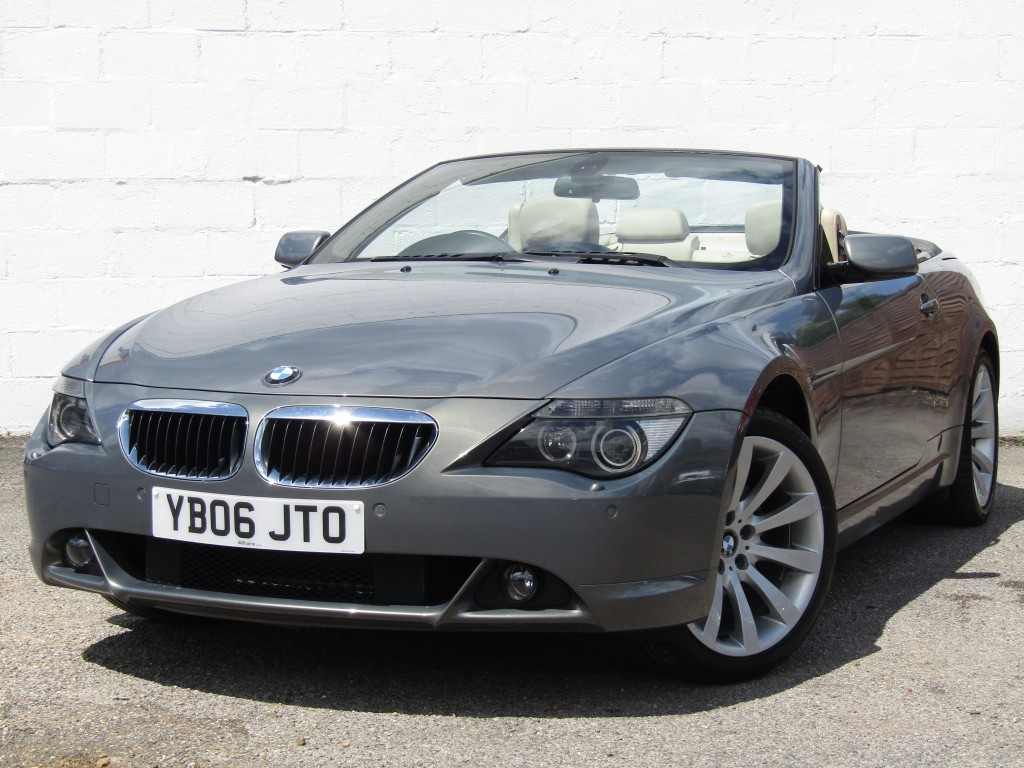 used BMW 630i Sport Auto Convertible in suffolk