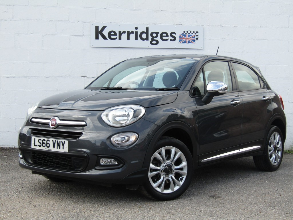 used Fiat 500X 1.6 E-Torq Pop Star 5 door in suffolk