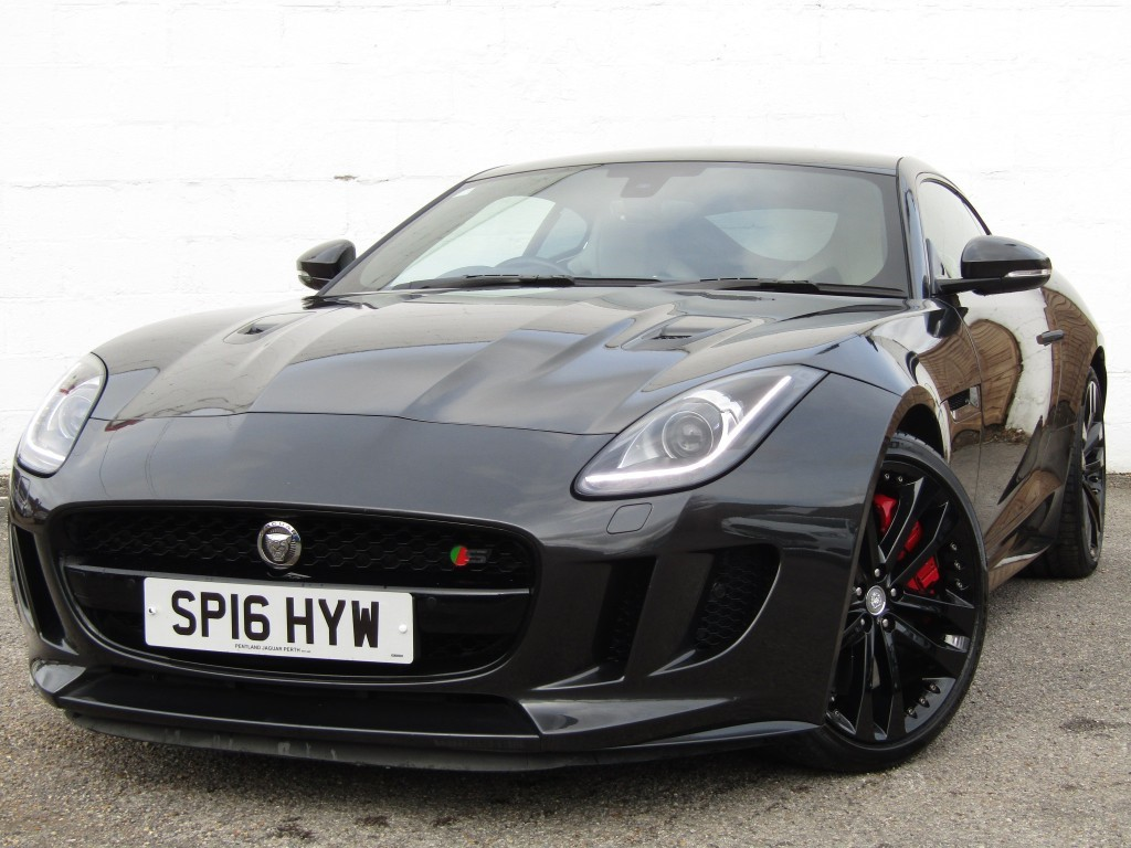 used Jaguar F-Type 3.0 S V6 AWD Auto Coupe in suffolk