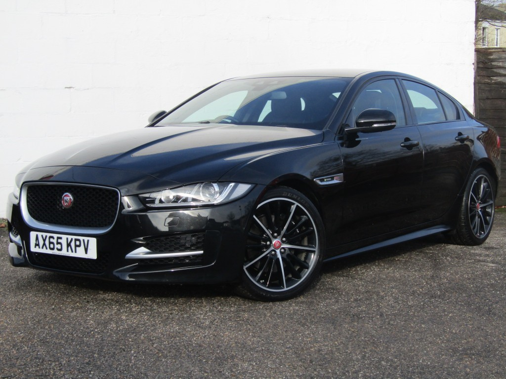 used Jaguar XE 2.0i [240] R-Sport Auto 4 door in suffolk