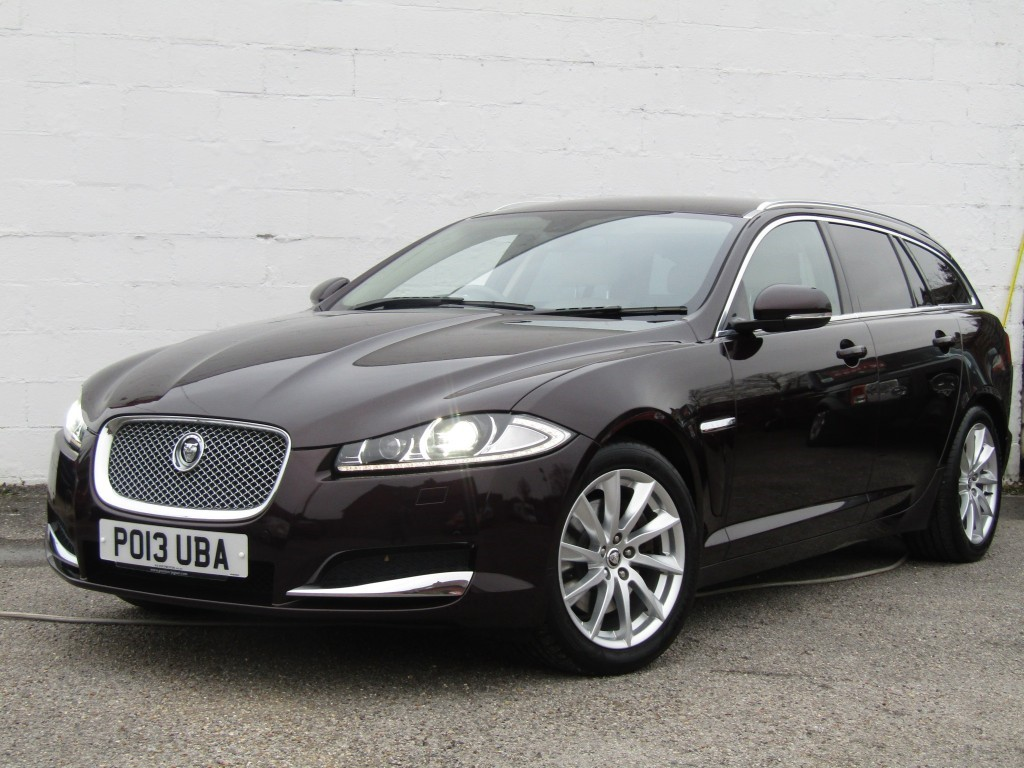used Jaguar XF 2.2d Premium Luxury Auto Sportbrake in suffolk