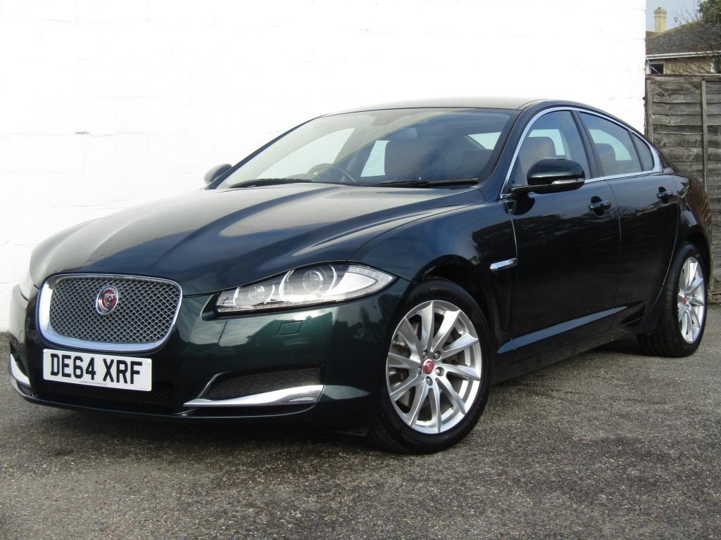 used Jaguar XF 2.2d Premium Luxury Auto Saloon in suffolk