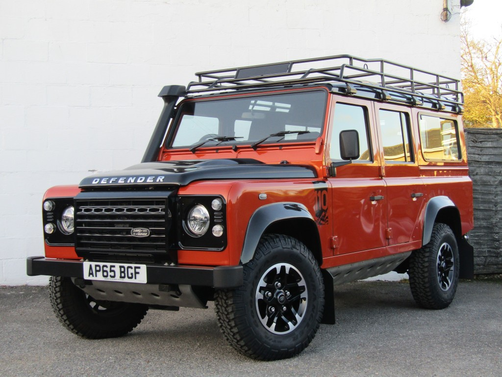 used Land Rover Defender 110 2.2d Adventure Edition in suffolk