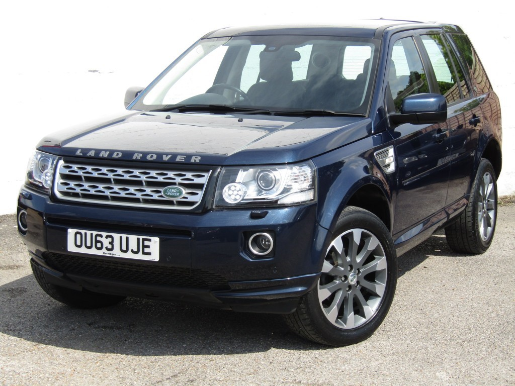 used Land Rover Freelander 2 2.2 Sd4 HSE Luxury Auto 5 door in suffolk
