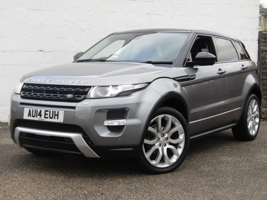 used Land Rover Range Rover Evoque 2.2 Sd4 Dynamic Auto 5 door in suffolk