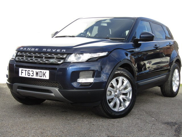 used Land Rover Range Rover Evoque 2.2 Sd4 Pure Tech Auto AWD in suffolk
