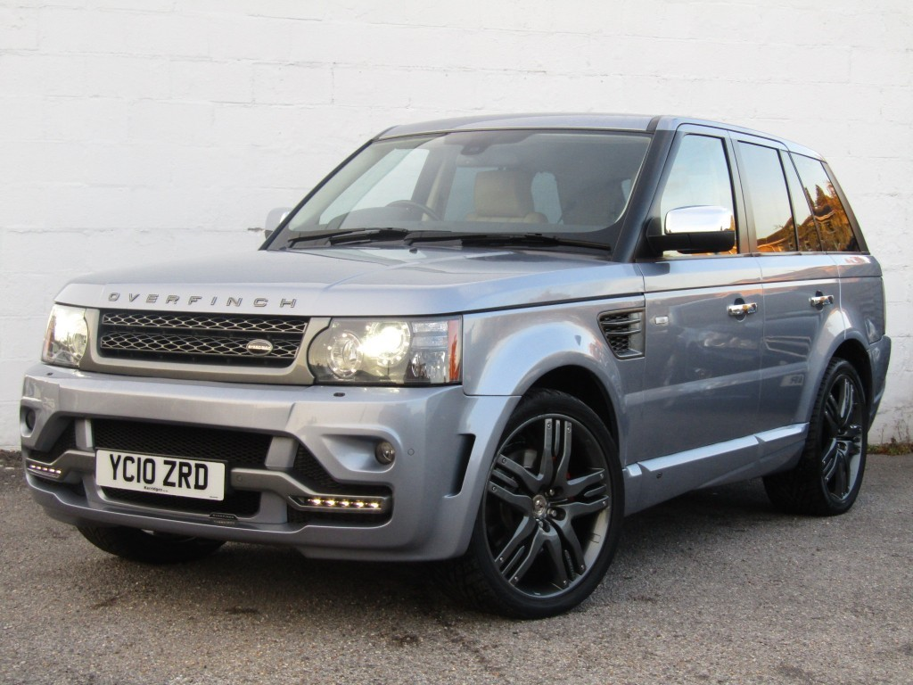 used Land Rover Range Rover Sport 3.0 TDV6 HSE Auto 5 door - 'Overfinch' in suffolk