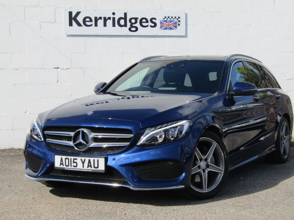 used Mercedes C220 2.2d AMG Line Premium Plus Auto Estate in suffolk