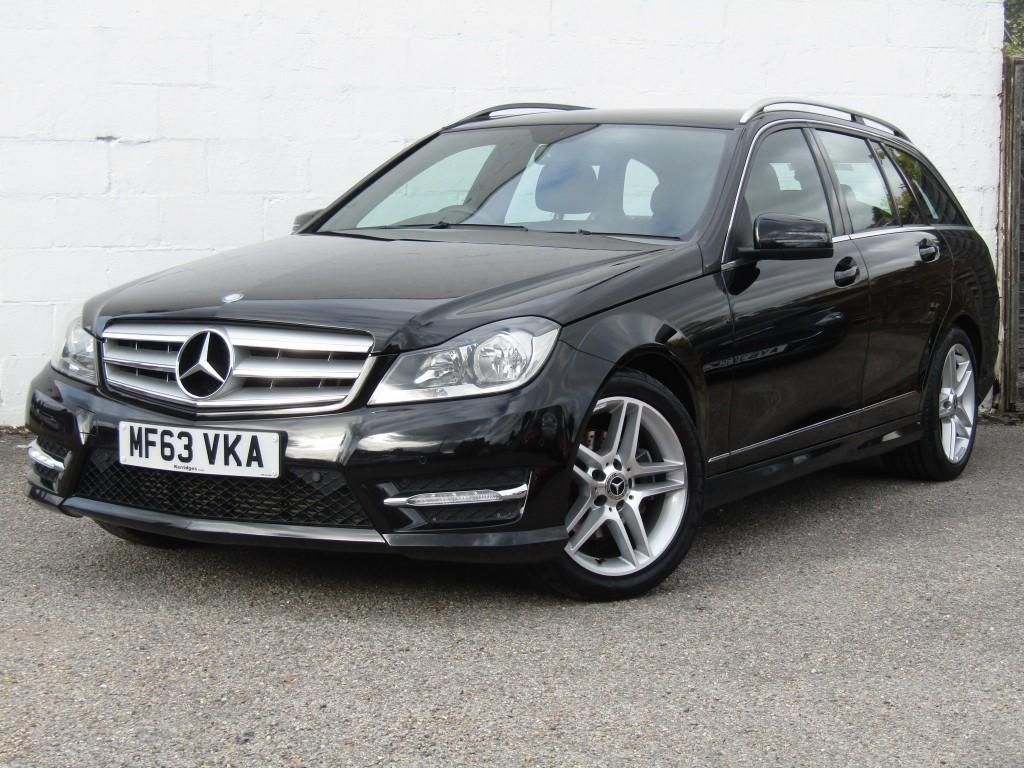 used Mercedes C220 2.2CDi AMG Sport BlueEfficiency in suffolk