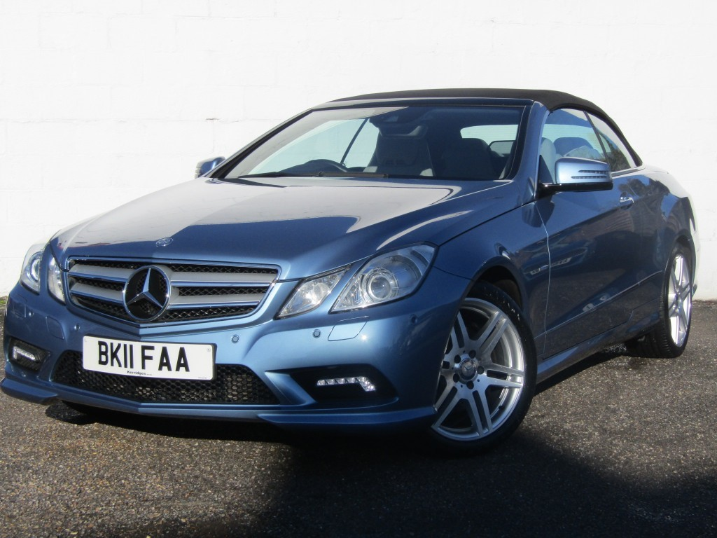 used Mercedes E350 3.0 CDi BlueEfficiency Sport Auto Convertible in suffolk