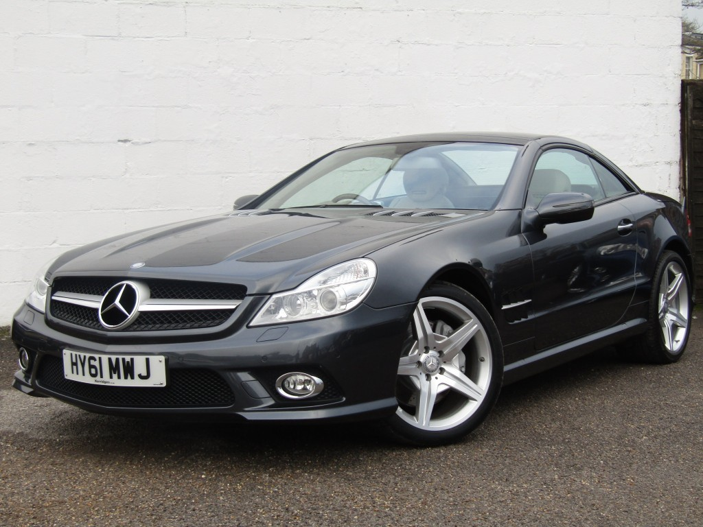 used Mercedes SL SL 500 Auto Convertible in suffolk