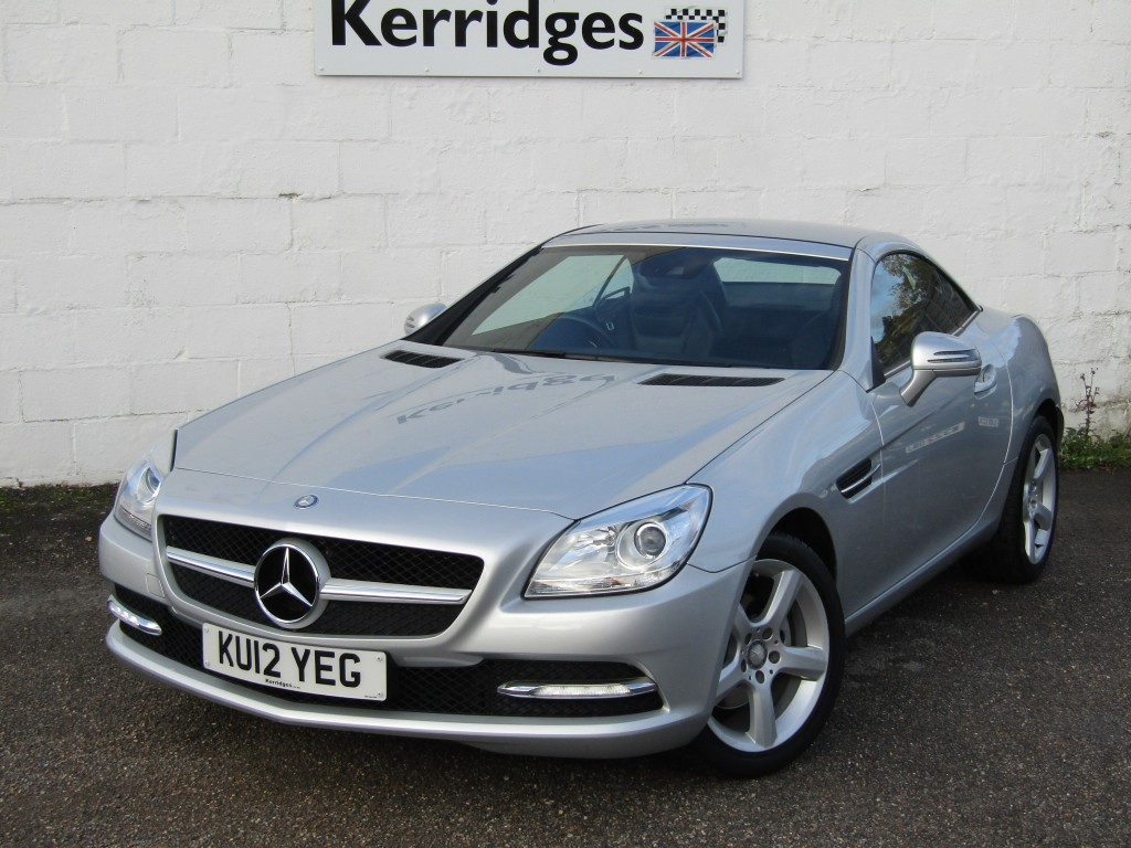 used Mercedes SLK200 SLK200 BlueEfficiency Auto Convertible in suffolk